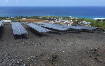 Injection des premiers kWh aux Comores